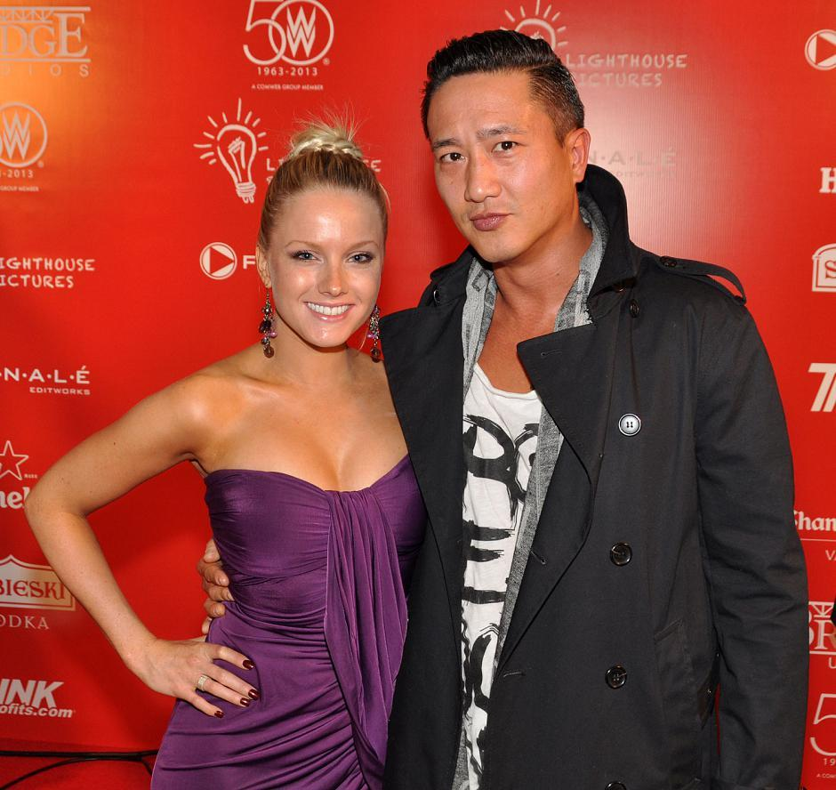 Eliza Smith, singer; and Terry Chen, <em>Continuum</em> and <em>The 100 TY</em> series actor.