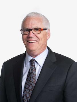 Gordon Harris, president and CEO of SFU Community Trust