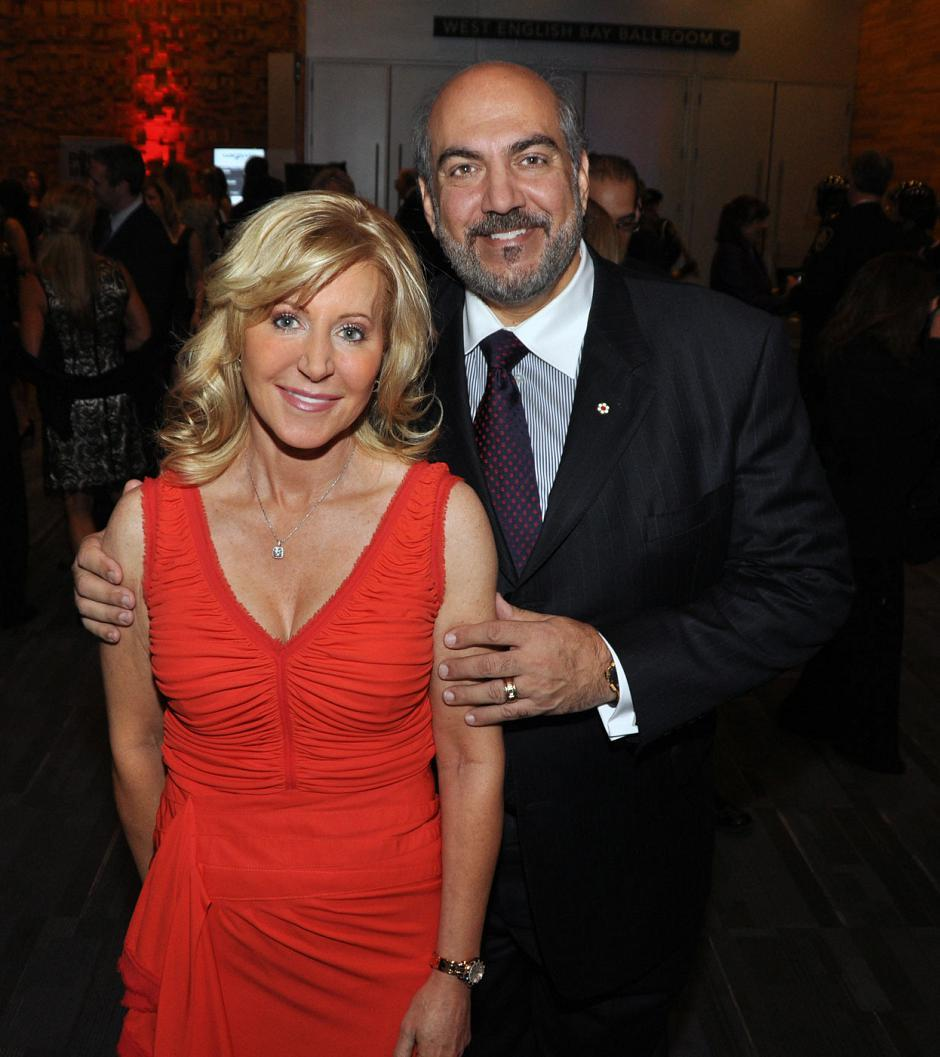 Wendy Lisogar-Cocchia, Century Plaza Hotel CEO and Absolute Spa Group founder; and Sergio Cocchia, Crew Group of Companies president and Century Plaza Hotel GM.