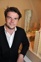 Bjarke Ingels, Bjarke Ingels Group (BIG) founder, with his masterpiece in the background, Vancouver House.