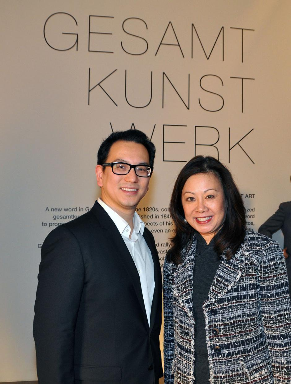 David Ju, Westbank Projects acquisition and developments manager; and Andrea Eng, Global Monopoly strategist.