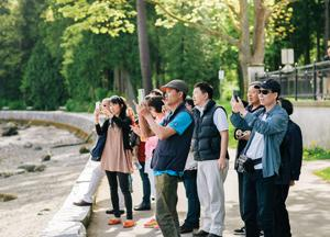 Image result for Chinese tourists Whistler BC