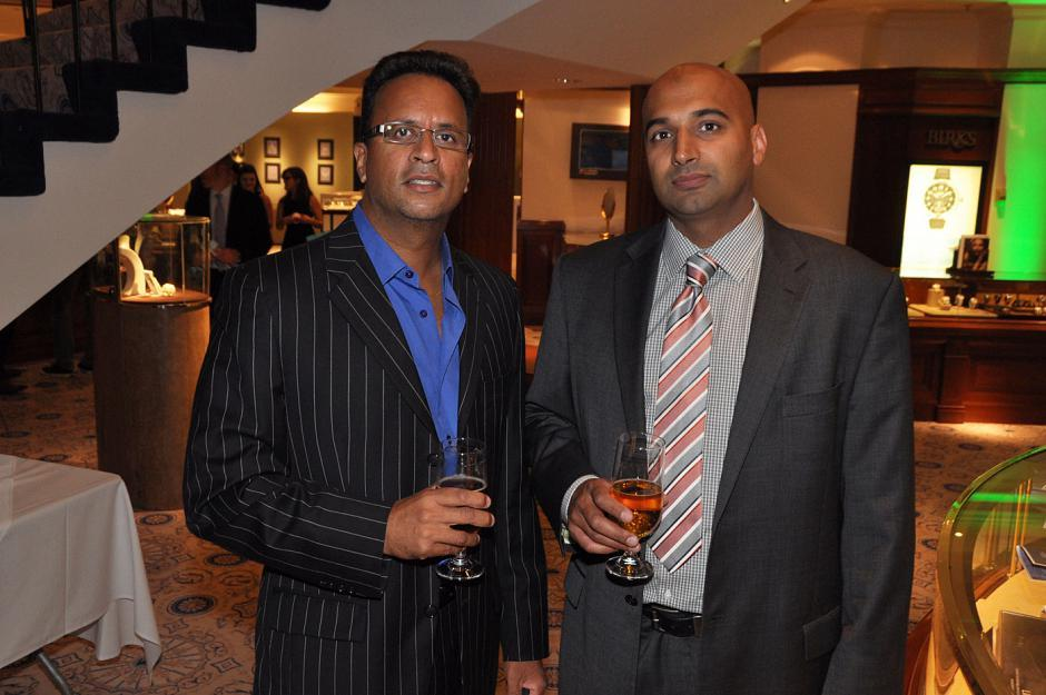 Jag Sandhu, JNS Capital president; and Jerry Sran, entrepreneur.