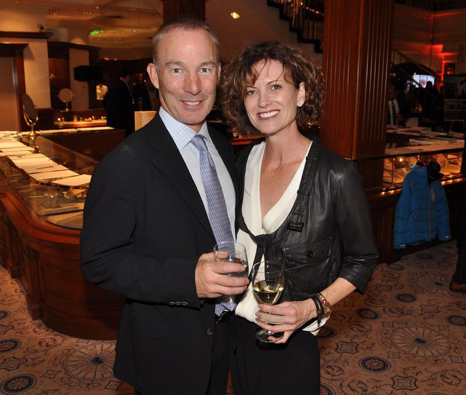 Hugh Cartwright, Maple Leaf Funds president; and his wife, Jan Cartwright, HabitualLife founder.