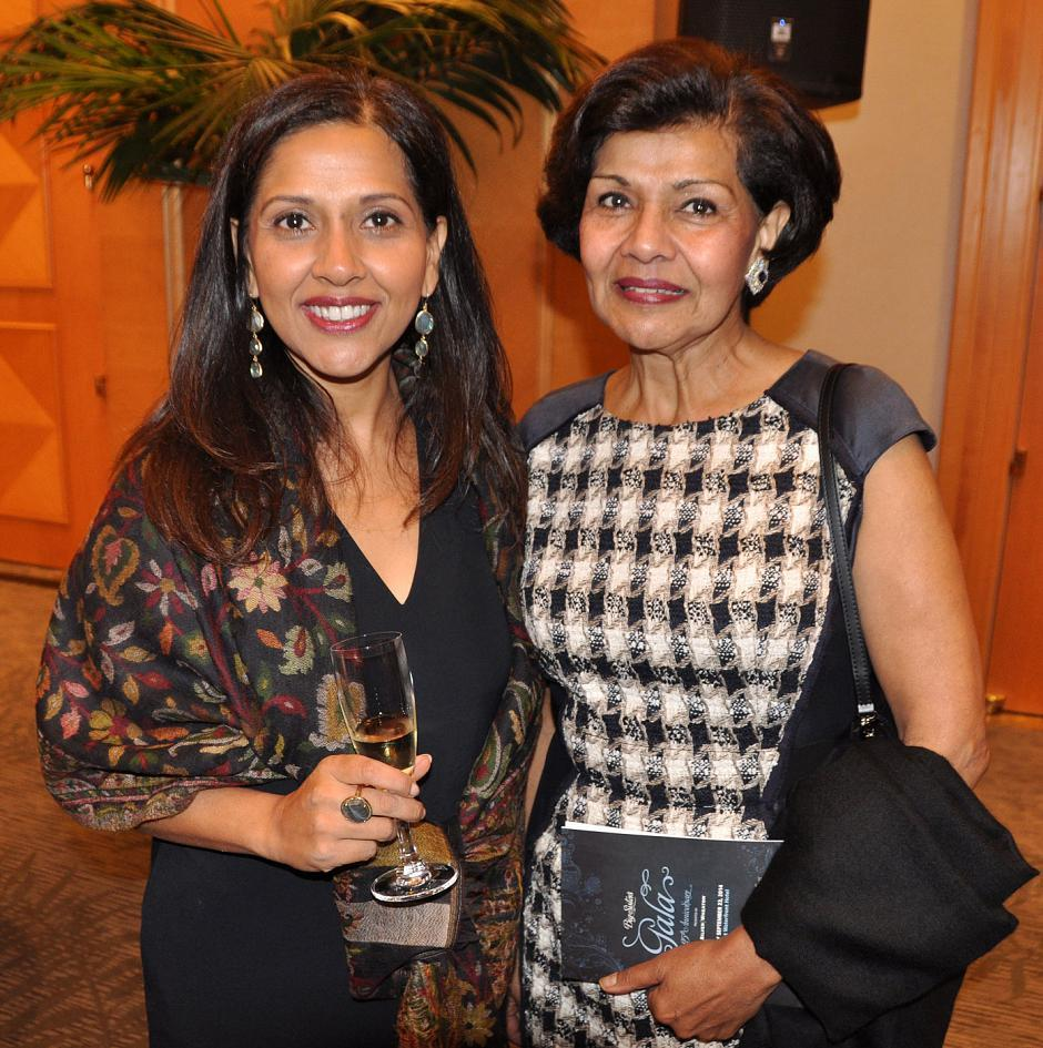 Anisha Virani, Kids at Risk director; and Yasmin Virani, Kids at Risk executive director.