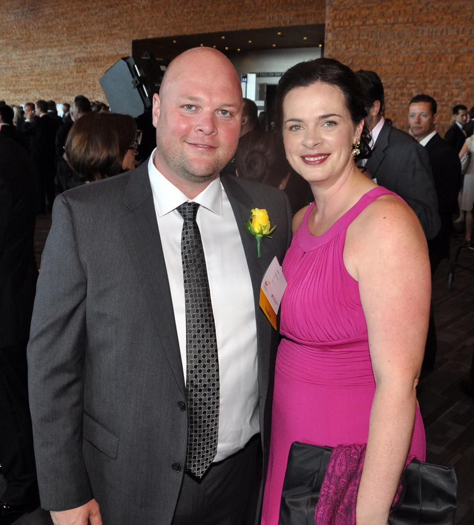 Finalist Jack Newton, Clio CEO; and his wife, Tonia Newton.