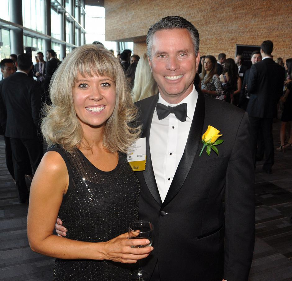Victoria O'Dea; and her husband, mining award winner Mark O'Dea, Oxygen Capital Corp. founder & chair.