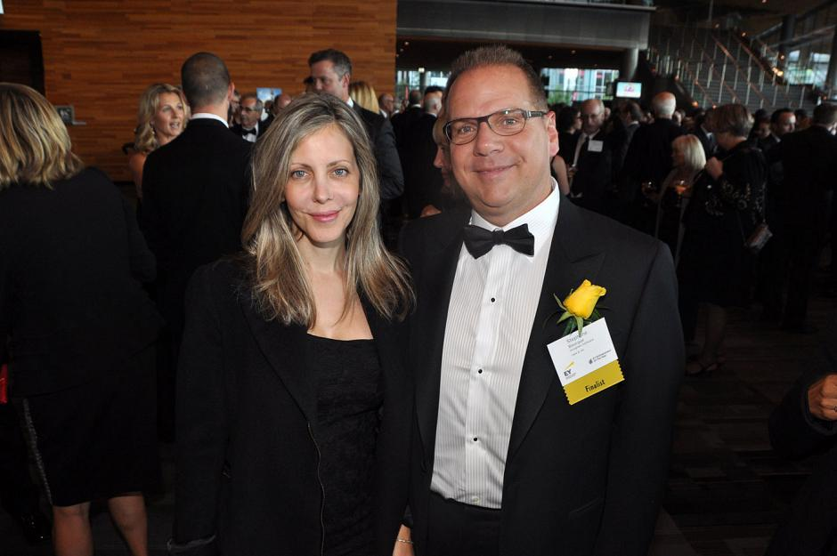 Stephanie Tsoulacos; and Stephane Bourque, Incognito Software president & CEO.