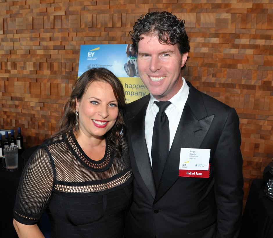 Cindy Beedie; and her husband, Ryan Beedie, Beedie Development Group president and EY Hall of Fame member.