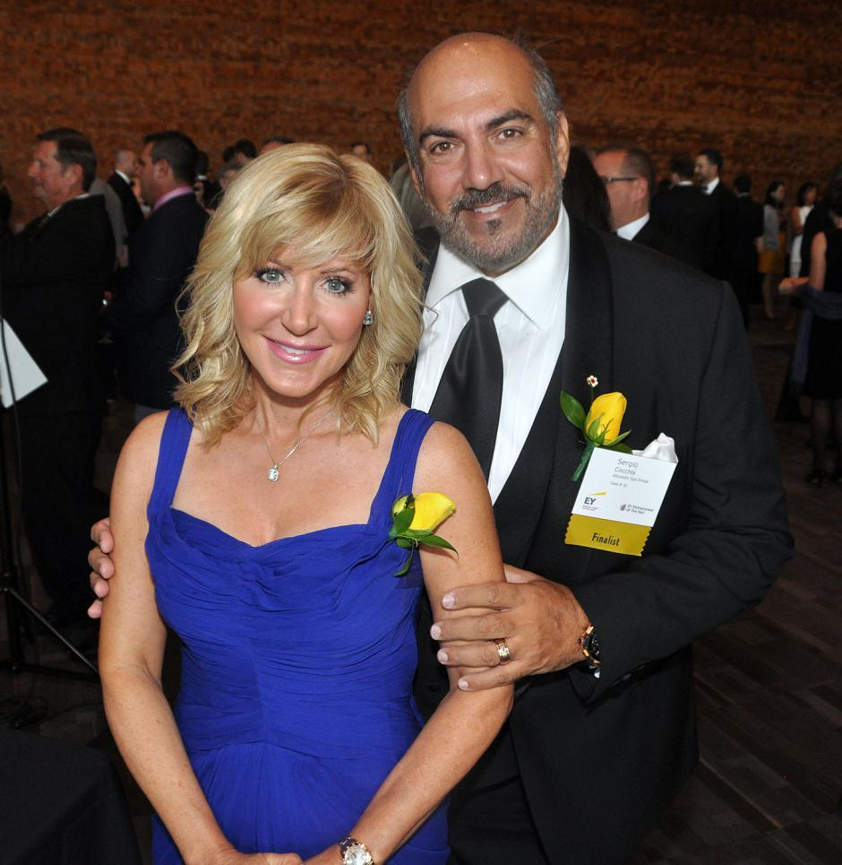 Finalists Wendy Lisogar-Cocchia, Absolute Spa Group founder, and her husband, Sergio Cocchia, Absolute Spa Group director.