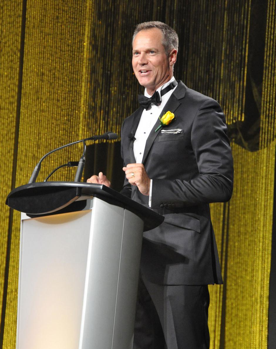 Emcee Chris Gailus from Global BC News Hour.