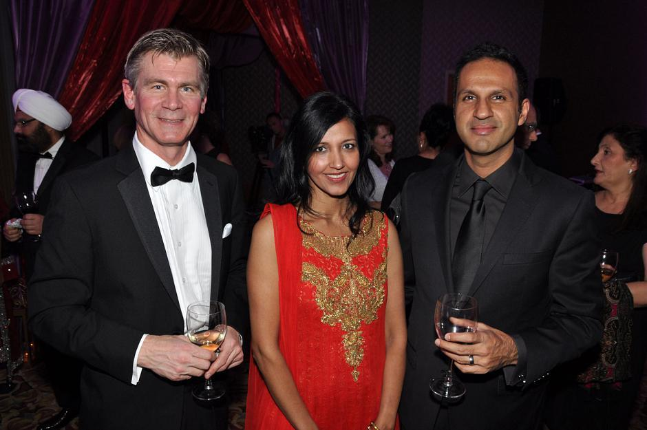 Dr. Erik Skarsgard, chief of surgery BCCH; Harinder Heran, BC Women's Hospital genetic counsellor; and Dr. Manraj Heran, BCCH pediatric interventional radiologist.