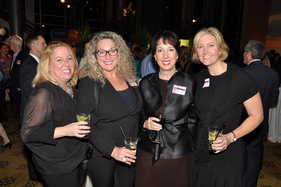 Michelle LeSage, Oak Bay Beach Hotel manager; Starr McMichael, Starrboard Enterprises president; Deirdre Campbell, Tartan Group president; and Kerri Moore, Westin Bear Mountain Golf Resort & Spa director of sales.