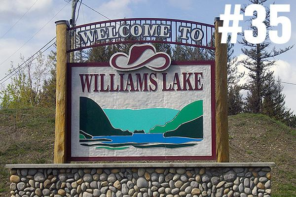<strong>35. Williams Lake</strong><br>