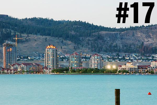 <strong>17. Kelowna</strong><br>