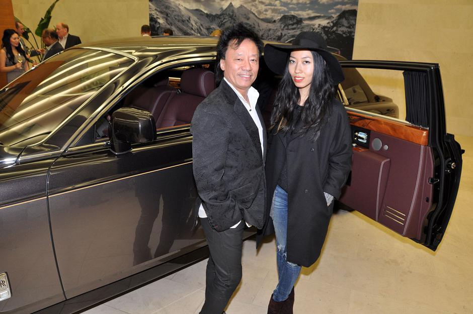 Andy Chu, FMA Entertainment founder/president and Wanting Qu, international recording artist and Tourism Vancouver ambassador.