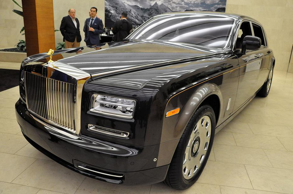 The Rolls-Royce Phantom Pinnacle Travel Collection car.  One of only 11 worldwide and priced at $829,000.