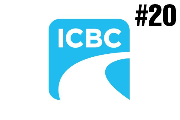 <strong>20. ICBC</strong><br />