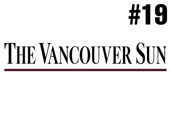 <strong>19. The Vancouver Sun</strong><br />