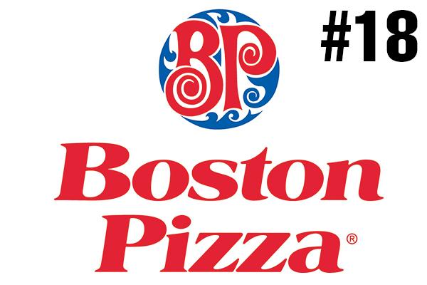 <strong>18. Boston Pizza</strong><br />