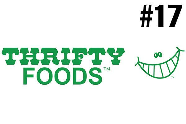 <strong>17. Thrifty Foods</strong><br />