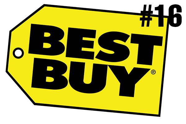 <strong>16. Best Buy</strong><br />