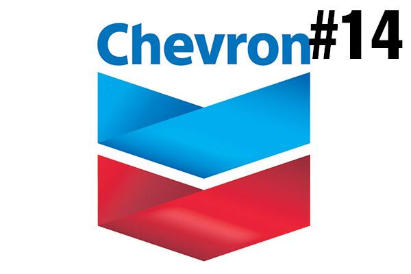 <strong>14. Chevron</strong><br />