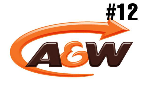 <strong>12. A&W</strong><br />