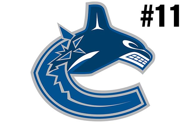 <strong>11. Vancouver Canucks</strong><br />
