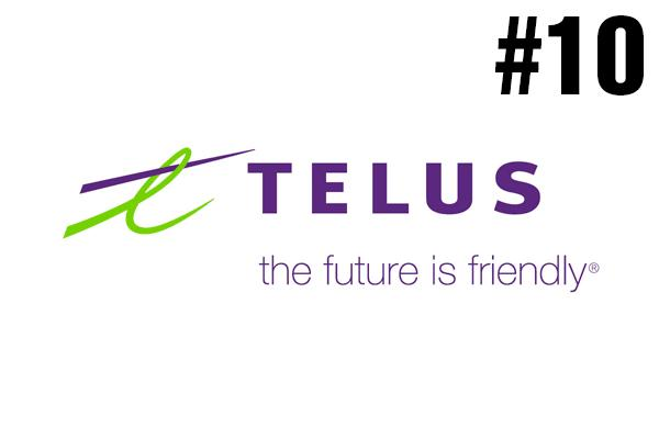<strong>10. Telus</strong><br />