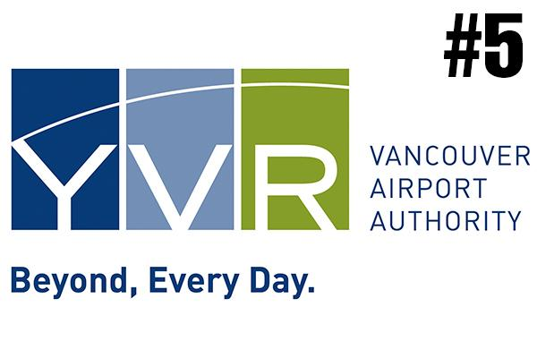 <strong>5. Vancouver International Airport (YVR)</strong><br />