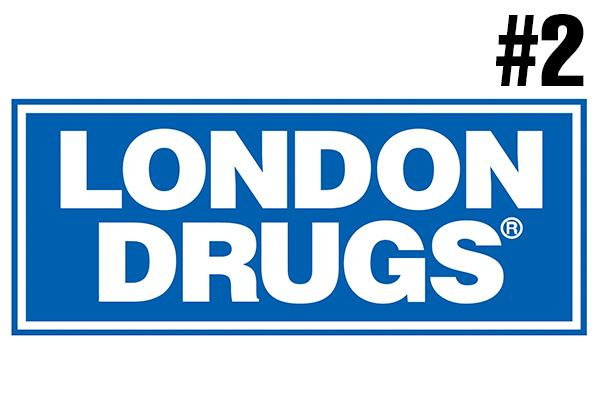 <strong>2. London Drugs</strong><br />