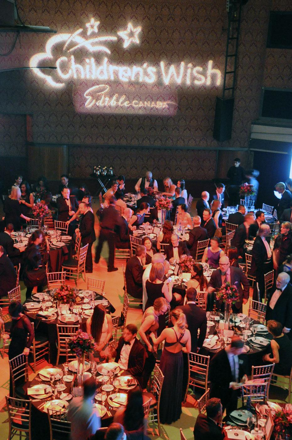 The gala dinner at the Vogue Theatre