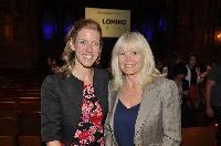 Nicola Fairweather, Linked Into Leads director of lead generation; and Debbie Clyne, Clyne Consulting owner