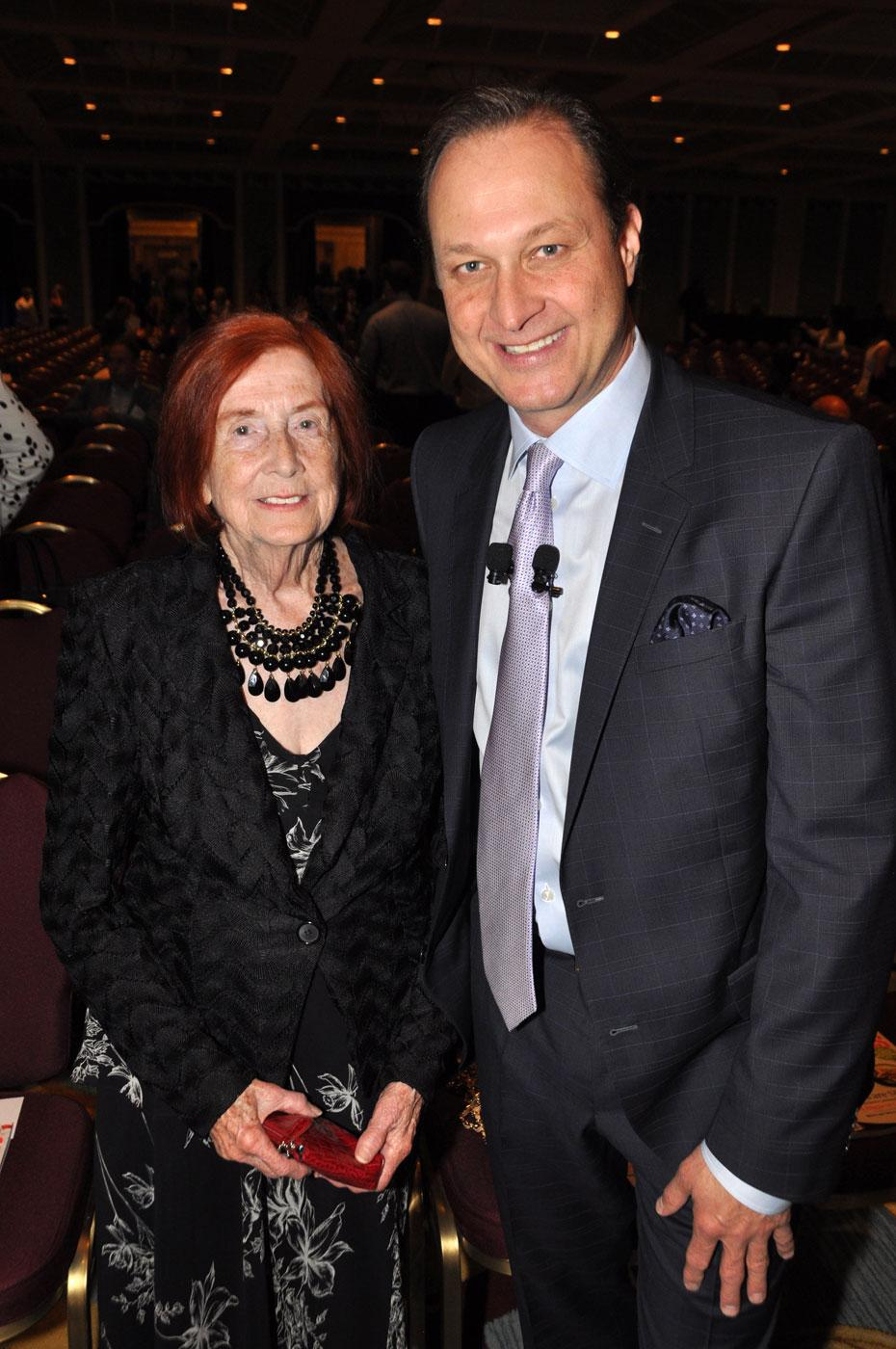 Mary Jaffray and her son, Richard Jaffray, Cactus Club Restaurants CEO and BCBusiness Top 100 honouree