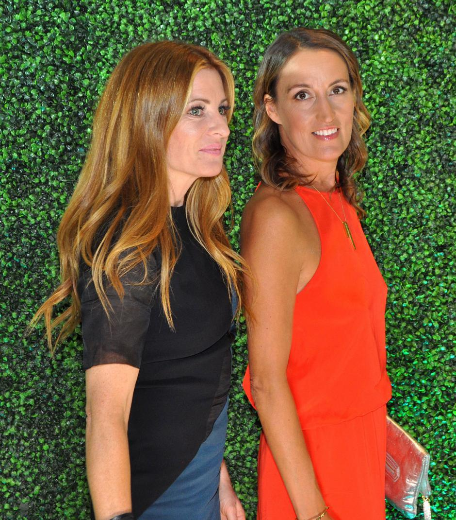 Susie Wall, style expert; and Sarah Bancroft, Vitamin Daily founder