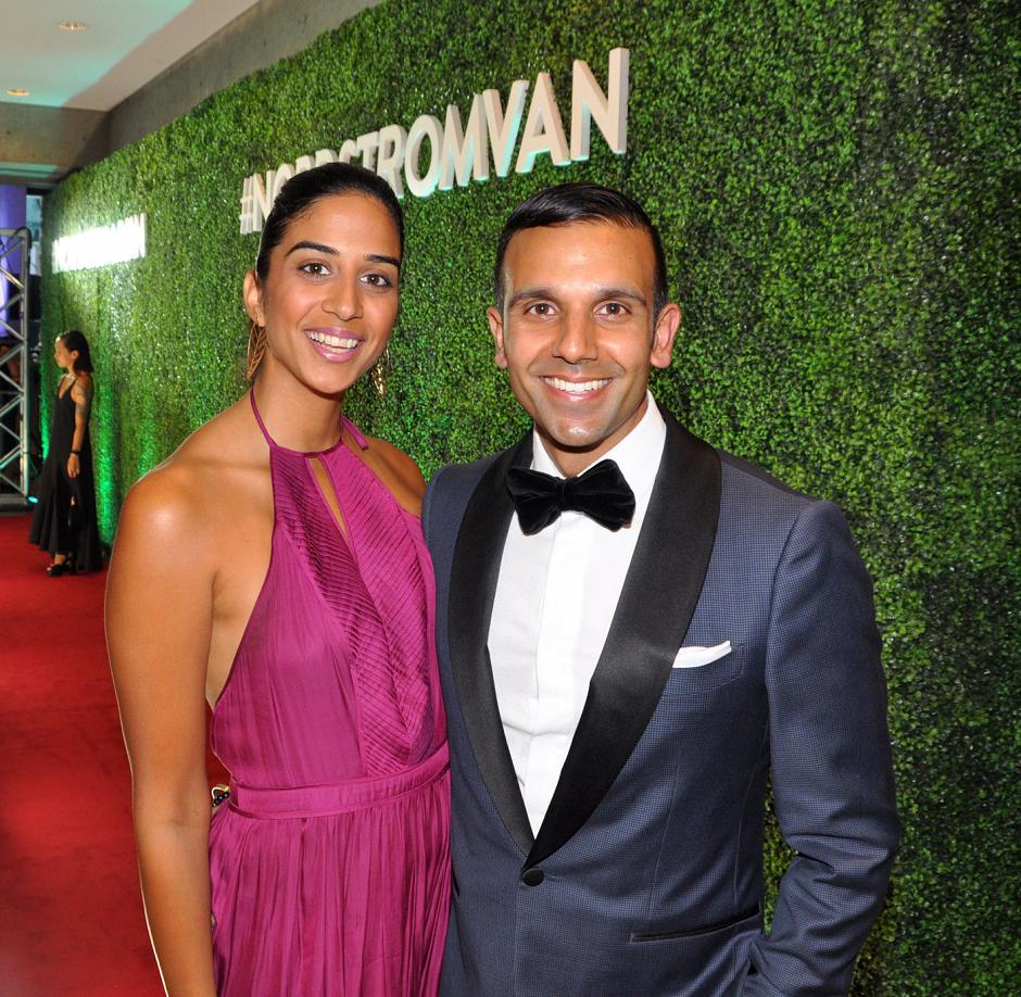 Natasha Sarai; and her husband, Jason Sarai, Style by Sarai CEO and gala co-chair