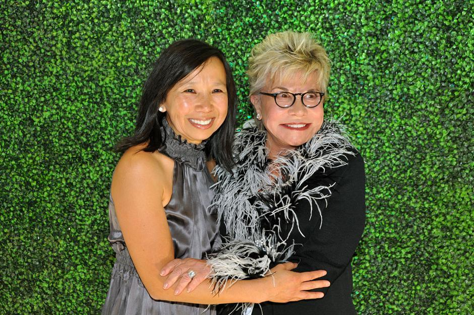 Lillian Hum, BC Children's Hospital Foundation VP; and Leslie Diamond, philanthropist and co-founder of the Gordon and Leslie Diamond Health Care Centre at VGH
