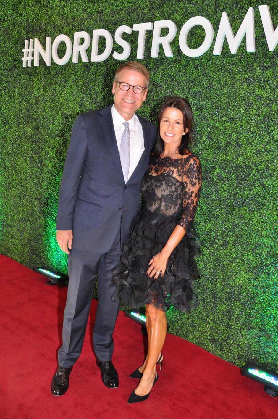 Blake Nordstrom, Nordstrom co-president; and his wife, Molly Nordstrom