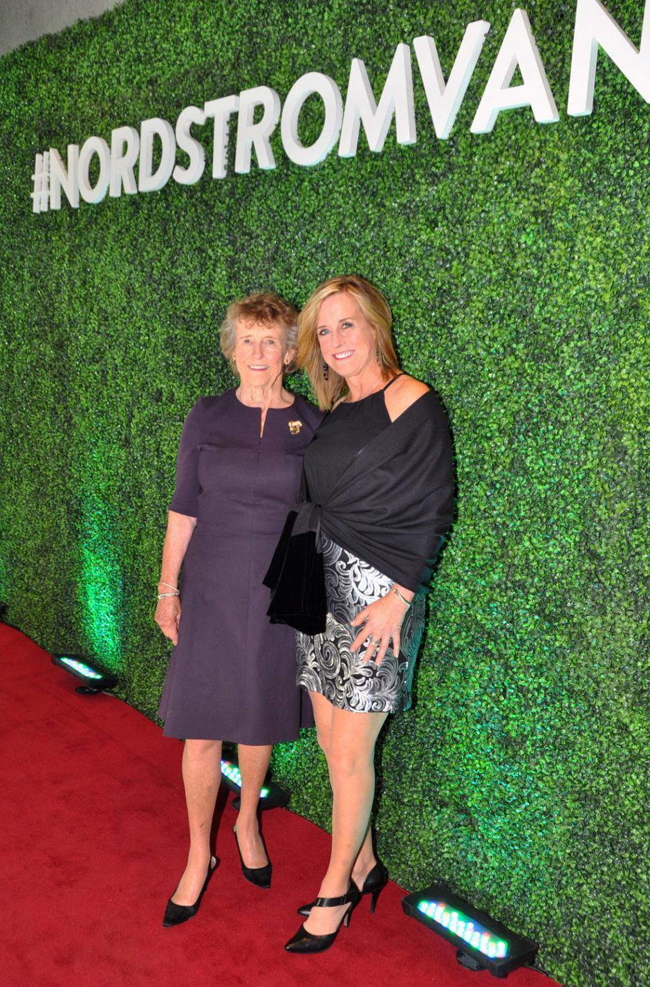 Anne Gittinger, Nordstrom co-owner/shareholder; and her daughter, Susan Dunn