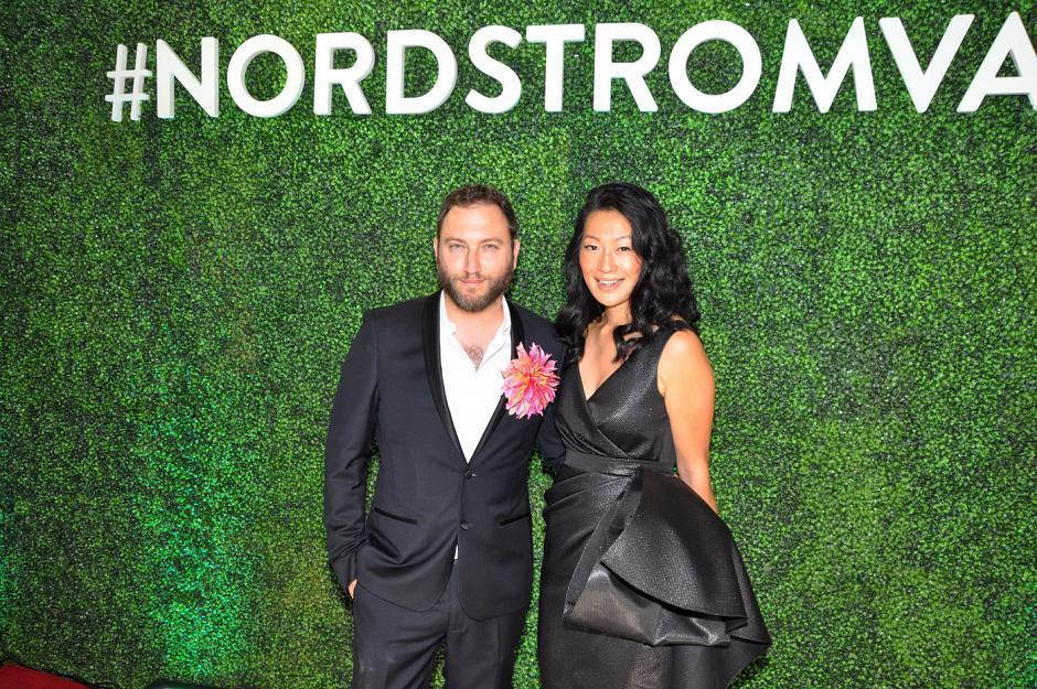 Dennis Gocer, The Collective You creative director; and Jackie Kai Ellis, Beaucoup Bakery & Cafe owner and Nordstrom campaign ambassador