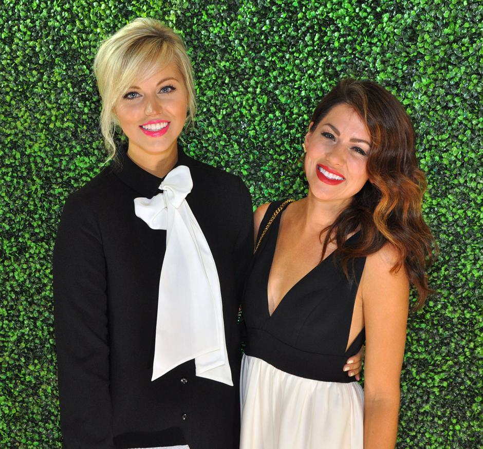 Shay Merritt, JillianHarris.com managing editor; and Jillian Harris, Love It or List It Vancouver host, interior decorator and gala co-chair