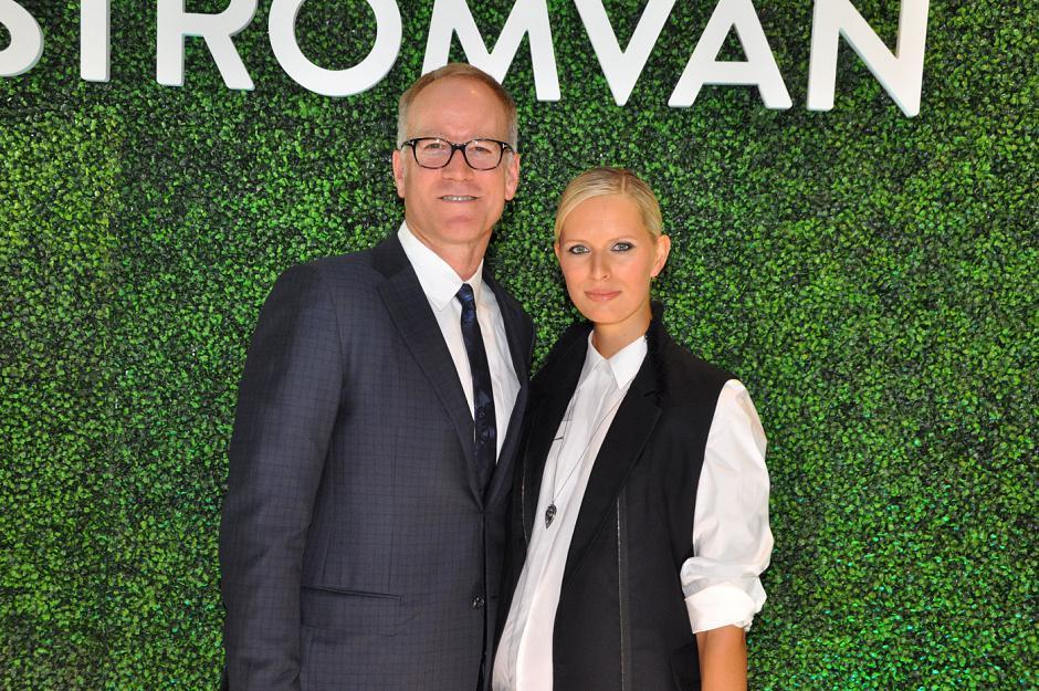 Pete Nordstrom; and Karolina Kurkova, model