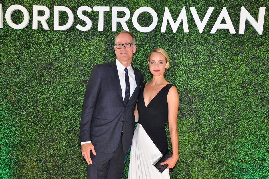 Pete Nordstrom; and Amber Valletta
