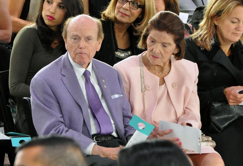 Local businessman/philanthropist Jimmy Pattison and his wife, Mary, were spotted in the front row