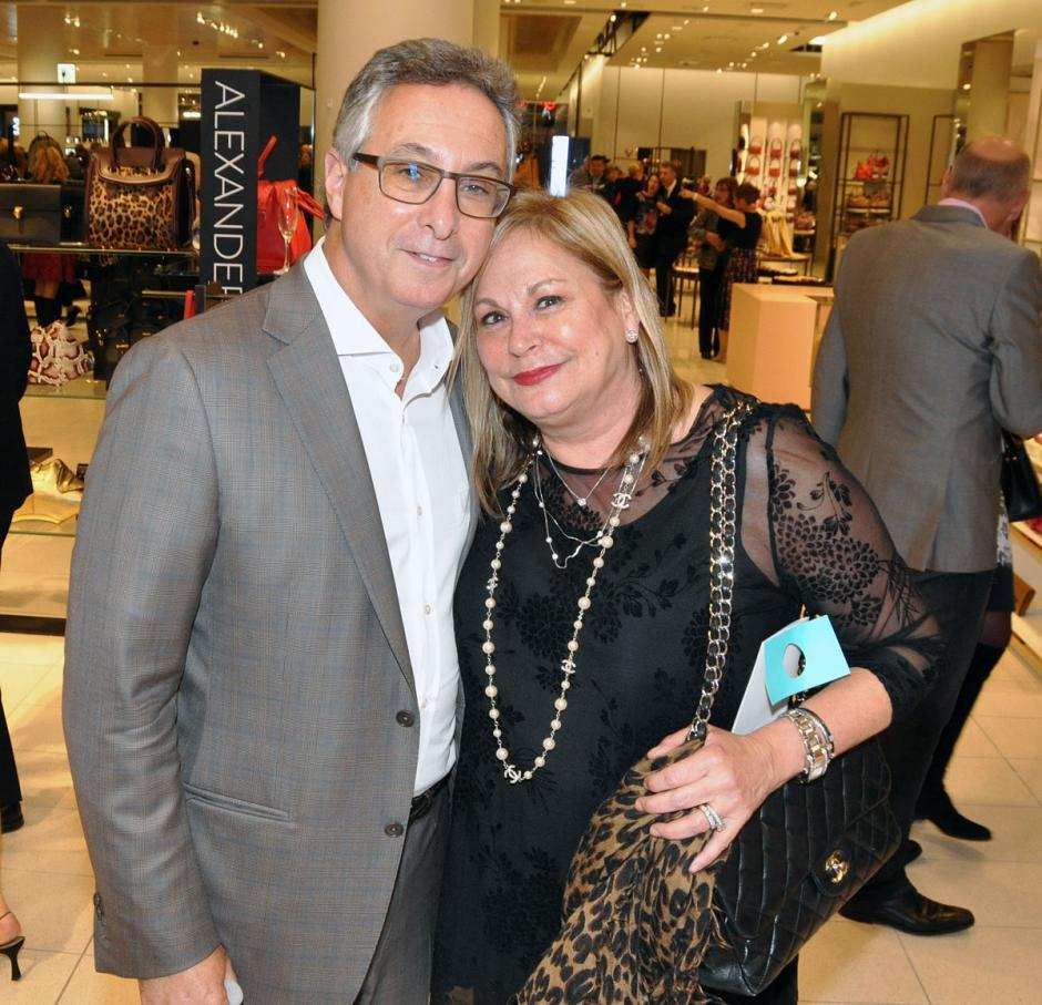 Gary Segal, Kingswood Capital Corp. VP; and his wife, Nanci Segal