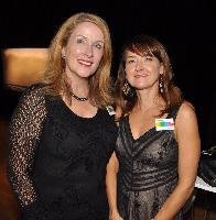 Arts Umbrella board vice-chairs Jill Price and Michelle Martin