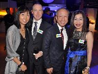 Jennie Yee, project manager; Robert McElroy, business transformation; Ernest Yee, Arts Umbrella board member/The Jack Webster Foundation co-chair; and Ling Chu, S.U.C.C.E.S.S. regional manager