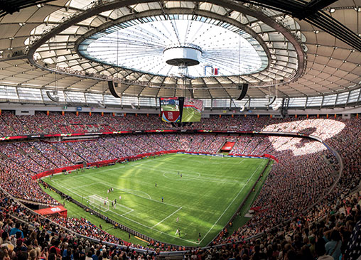 Bc Place Is The Province S Crown Jewel Bcbusiness