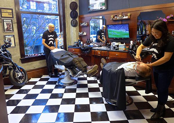 Call it retro or call it classic, the traditional barbershop is making a comeback